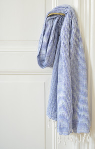 Double layered hammam towel from Ottomania
